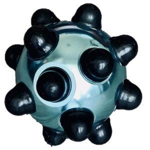Aluminium Laundry Ball - Turquoise